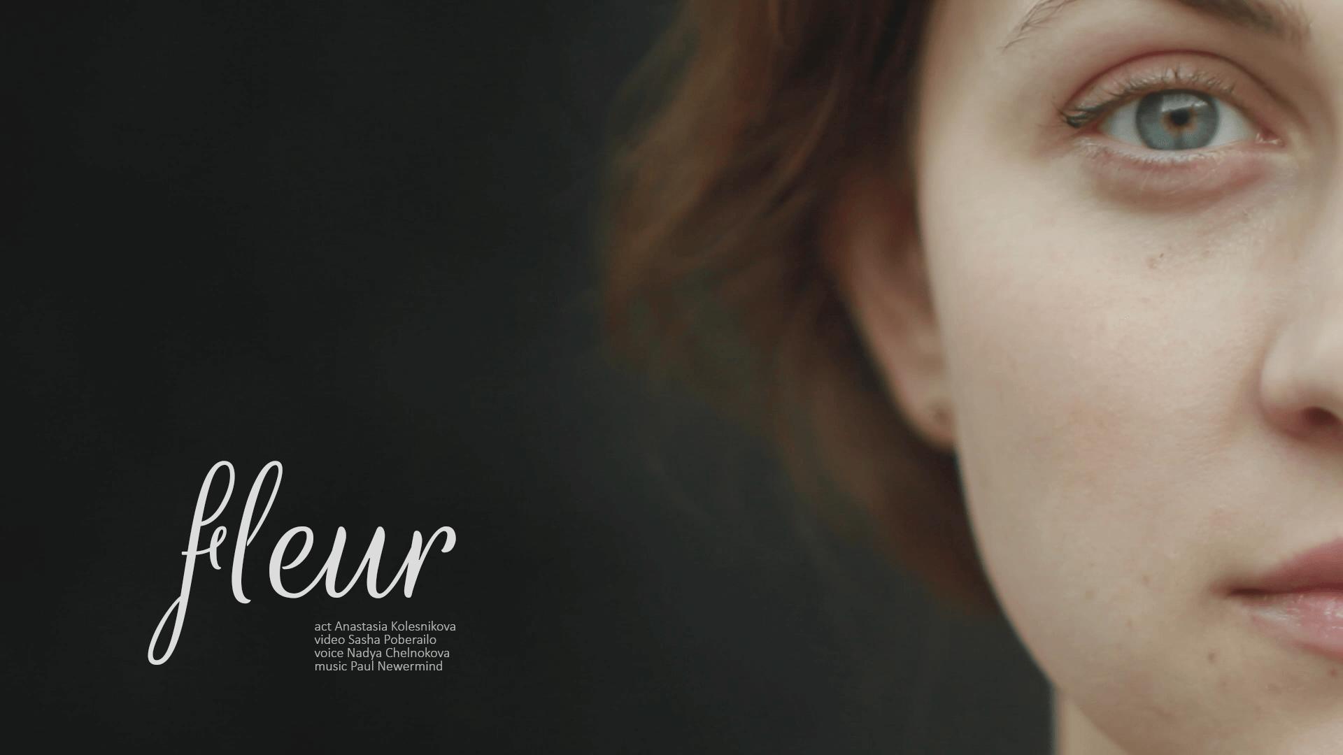 fleur short fashion film - actress, fashion, french, mood, music