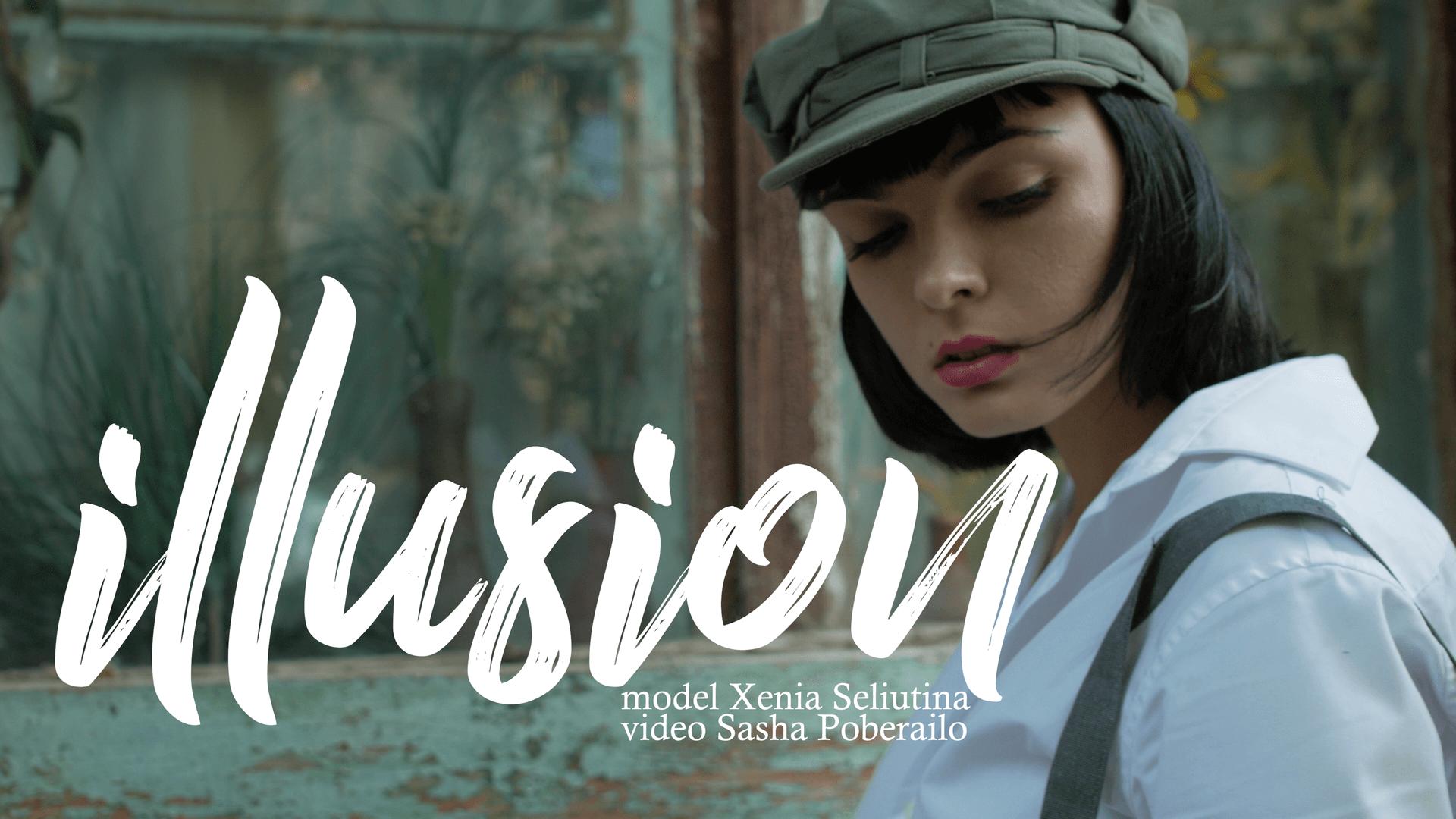 illusion fashion short film - actress, clip, fashion, model, Poberailo