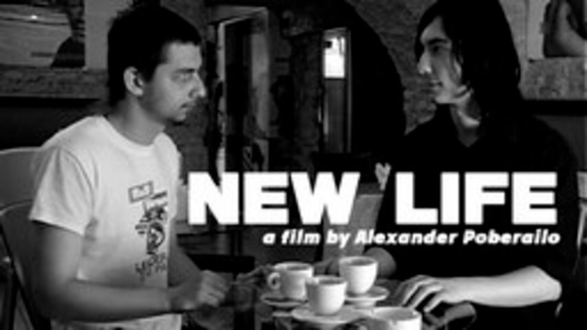 new life short film - black&white, shorfilm, webseries
