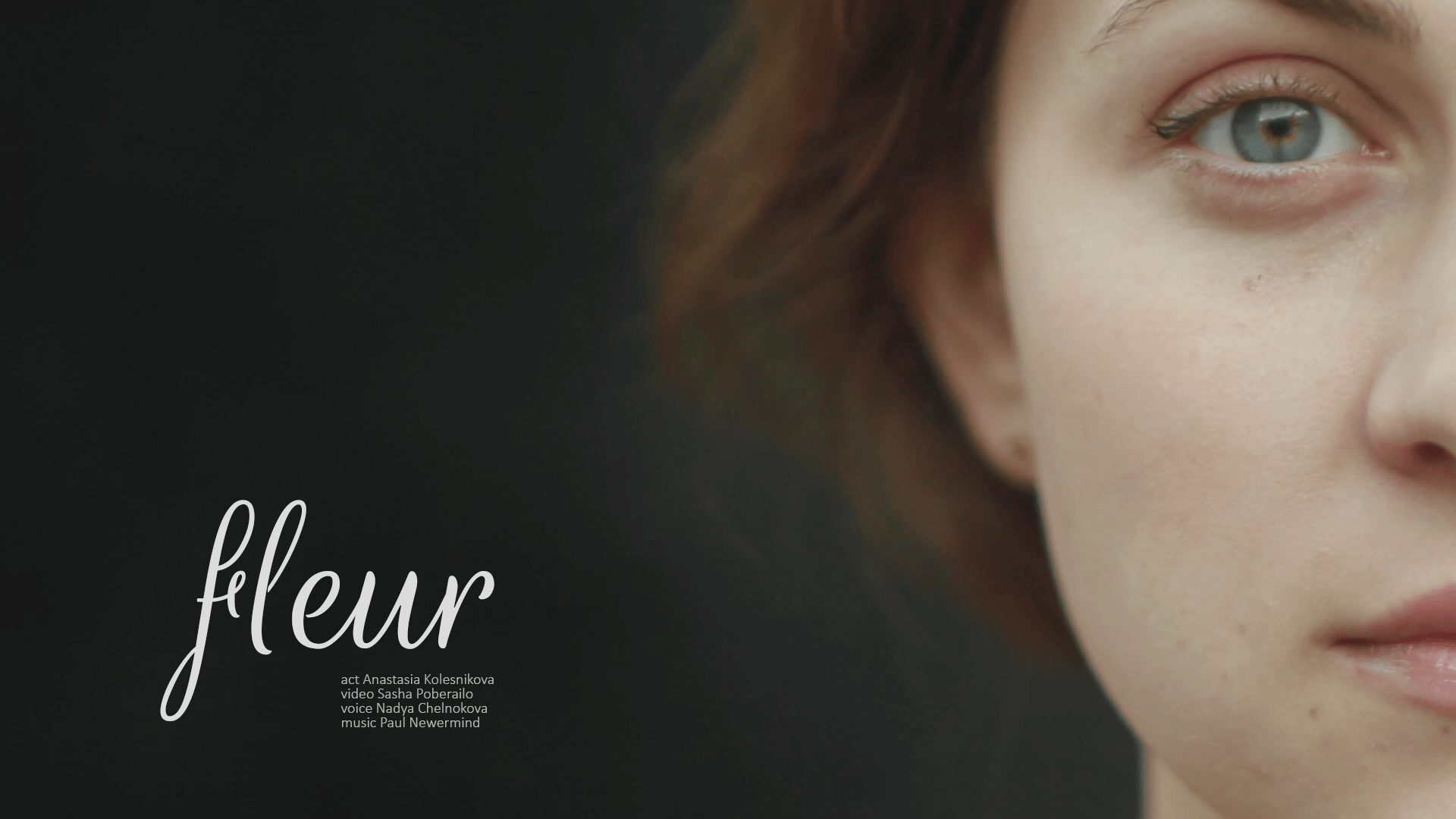 fleur short fashion film - actress, fashion, french, mood, music