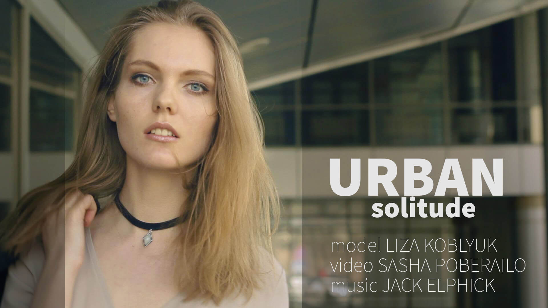 urban solitude dailymotion - blond, fashion, girl, model, video