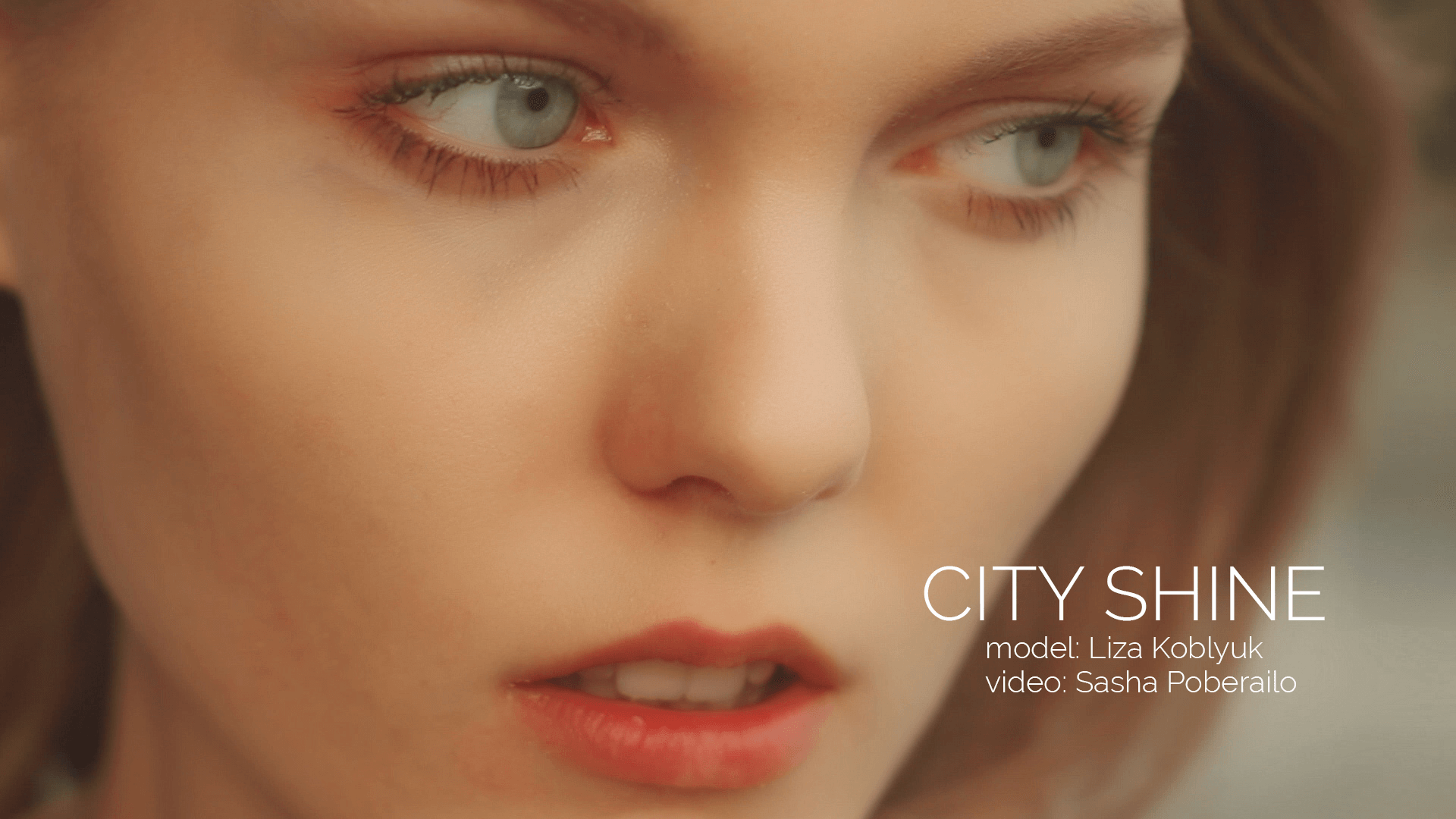 city shine fashion short film - actress
