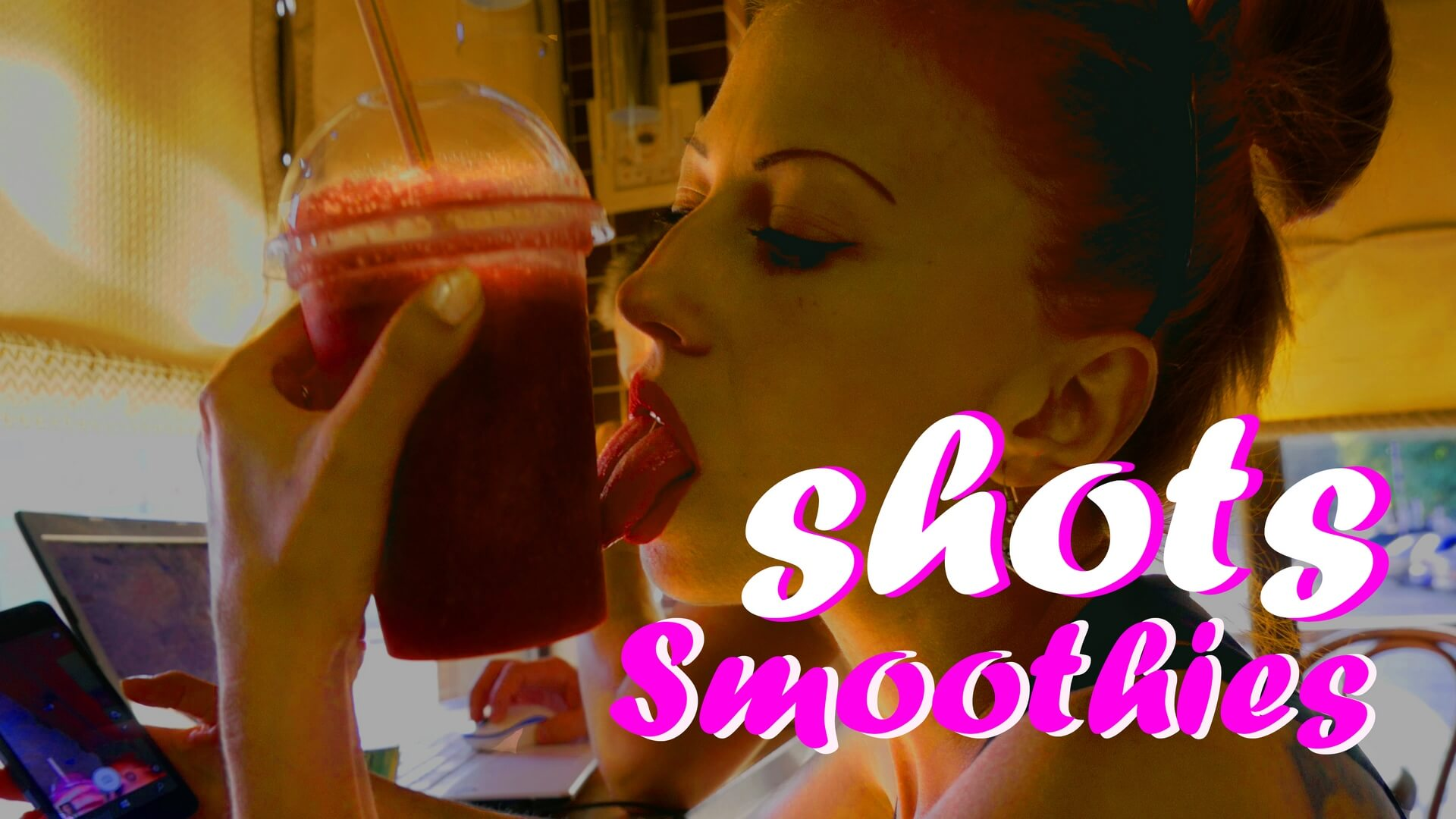 smoothie shot cafe talking web s - song